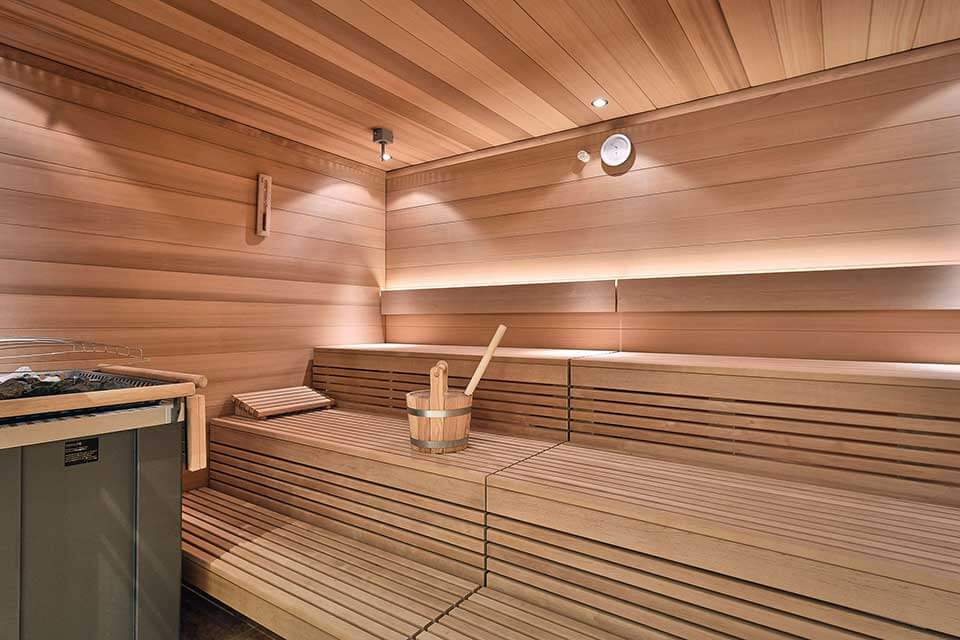 Commercial sauna design and build in the UK