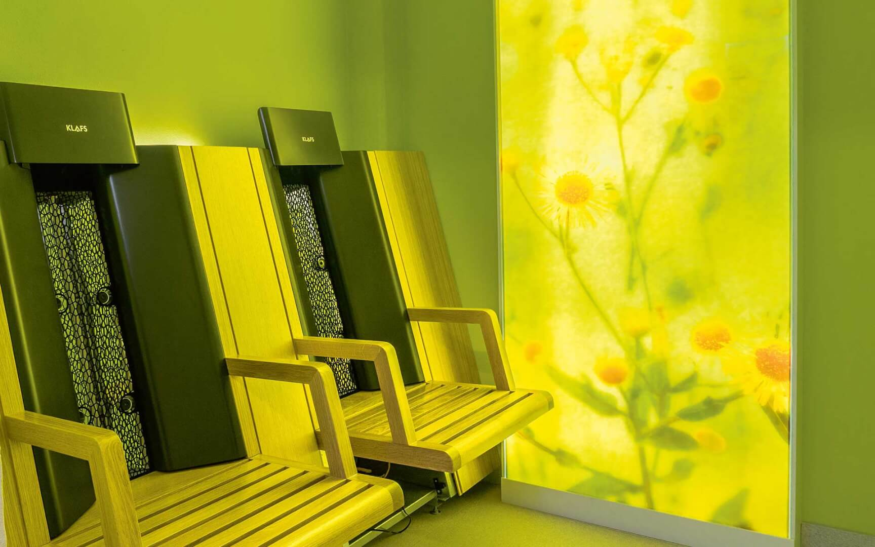Infrared cabins and sauna seats