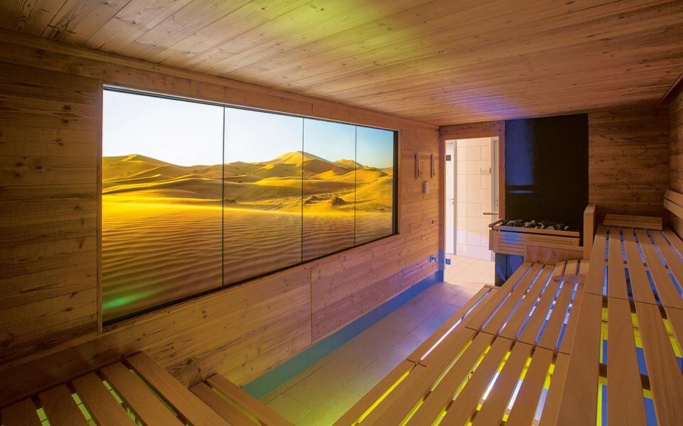 Atmosphere for Spa relaxation areas by KLAFS at Guncast