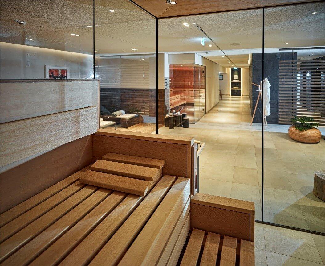Choose a stylish, eco-friendly finish for your bespoke KLAFS UK sauna